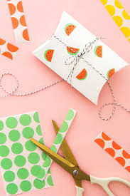 diy office gifts. diy office label watermelon stickers diy gifts