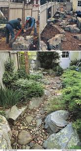 dry river bed diy 23