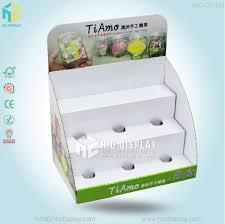 candy cardboard counter display stand for chewing gum