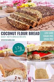 I will bake a few every week to eat for breakfast and snacks. Healthy Homemade Keto Coconut Flour Bread Video 1 7g Net