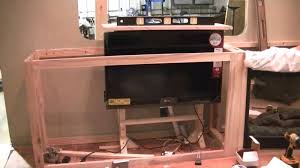 After installing your actuator, you must now install the television. Use a  piece of thick plywood as your mounting plate. By using a thick piece of  plywood, ...