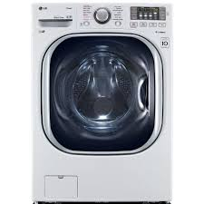 How Does A High Efficiency Washer Work Lg Electronics 45 Cu Ft High Efficiency Front Load Washer With