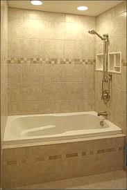 jacuzzi tub shower combo bathtub with small bathroom alcove and limestone wall remodel bath jacuzzi tub