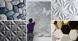wall tiles design. 25 Creative 3D Wall Tile Designs To Help You Create Texture On Your Walls Tiles Design L