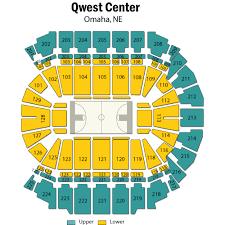 Chi Center Omaha Seating Chart Villanova Basketball At Creighton Basketball Omaha Tickets