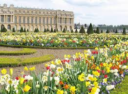gardens of versailles versailles france the formal gardens behind the palace are simply