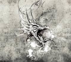эскиз искусства татуировки стоковое фото Outsiderzone 40093775