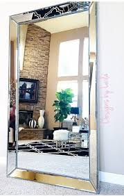 @designsbylaila showcases our stunning Omni Leaner Mirror in her home. We  love how it