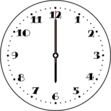 無料イラスト 時計の文字盤 パブリックドメインq著作権フリー画像素材集