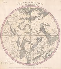 Star Charts For Southern Hemisphere File 1856 Burritt Huntington Map Of The Stars
