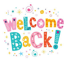 Welcome Back Graphics Welcome Back Decorative Lettering Text Royalty Free Vector