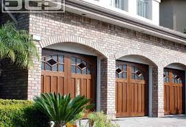 craftsman style garage doorsCustom Crafted Garage Doors With Designer Windows in Solid