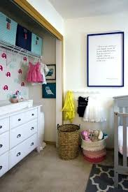 putting dresser in closet organizing a nursery using as changing table small nurseries and walk i putting dresser in closet