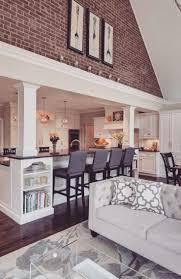 Best  Kitchen Living Rooms Ideas On Pinterest - Open floor plan kitchen