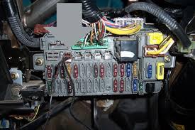 hatchback trunk light constant 12v fuse box output