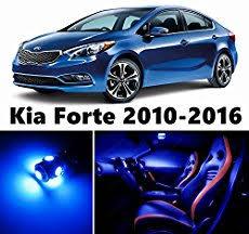 kia forte car stereo wiring diagram 10pcs led premium blue light interior package deal for kia forte 2010 2017