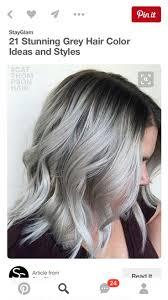 35 Besten Granny Hair Bilder Auf Pinterest Haarfarben Make Up