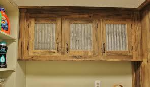 reclaimed wood cabinet doors. Rustic Upper Cabinet Reclaimed Barn Wood W/Tin Doors By Keeriah C