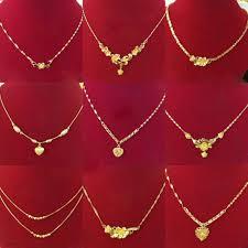 New Imitation Jewellery Designs 2019 Gold Plated Imitation Jewellery Xuping 24k Gold Jewelry Hot Sale New Design Dubai Womens Fashion Chain Necklaces Buy 24k Gold Jewelry Jewelry
