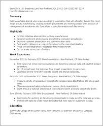 Sales Analyst Resume Professional Sales Analyst Templates To Showcase Your Talent