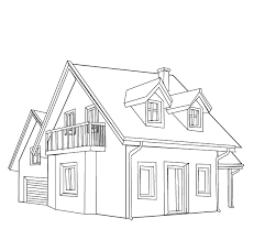 Small Picture House 48 Buildings and Architecture Printable coloring pages
