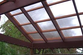 photos of corrugated clear roof panels