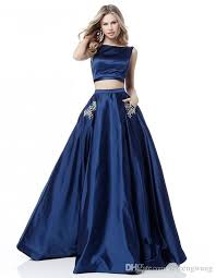 2019 Europe And The United States New Ladies Dance Party Cocktail Party  Split Two Piece Long Skirt Sexy Dew Navel Evening Dress Evening Dresses For  Pregnant ...