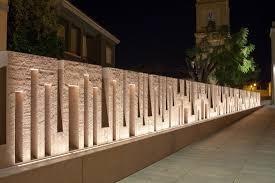 Exterior Wall Designs Photos San Giorgio Square Quartucciu Italy Engineer