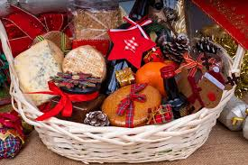 the best gift ideas for employees hams and baskets