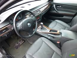 Black Interior 2006 BMW 3 Series 330xi Sedan Photo #75316217 ...