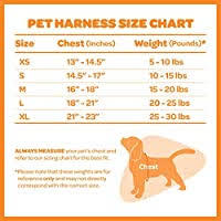 Voyager Harness Size Chart Voyager Step In Air Dog Harness All Weather Mesh Step In Vest Harness For Small And Medium Dogs By Best Pet Supplies