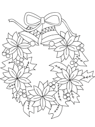 You will need 7 green leaves and 7 red. 30 Free Christmas Wreath Coloring Pages Printable