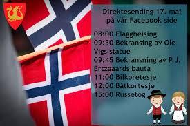 Det Blir En Annerledes 17 Mai I Ar Sa Stjordal Kommune Facebook