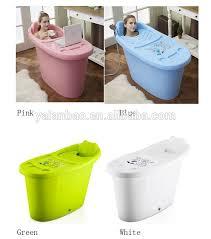indoor spa hot tub with massage plastic bathtub for