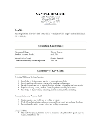 Give Me Examples Of Resumes. Show A Resume Me Examples Of Resumes ...