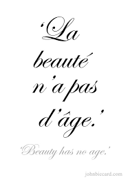 French Quotes On Beauty