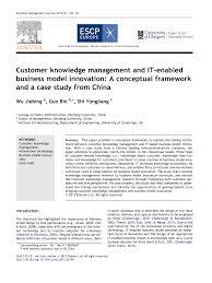 Knowledge management case study        sludgeport    web fc  com Harvard Business Review