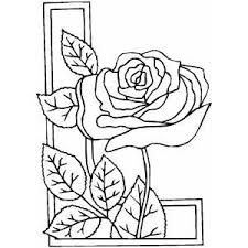 Small Picture Rose Border Coloring Pinterest Drawing practice