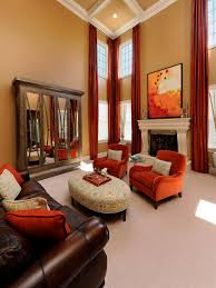 Living Room Staging Home Staging Tips For Fall Hgtv