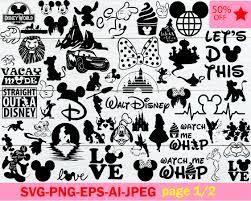 Disney Font Big Bundle Disney Archives Etsysvg Etsysvg