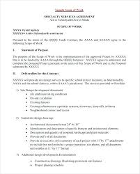 design statement of work software project statement of work document sample 3 sow