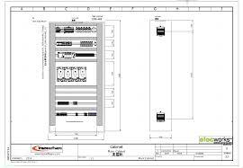 electrical design software elecworks™  2d cabinet layout in elecworks Free Designing Wiring Schematic Softwear