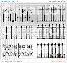 Jolly A Digital Collage With Ornate Wrought Iron Fencing Version 9