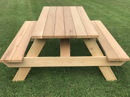 7 master picnic table with seats
