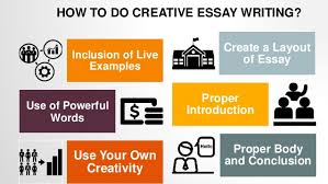 how to write creative essays 5 how to do creative essay