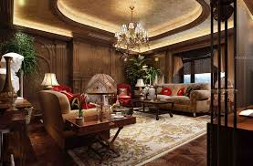 I Classic Italian Living Room Interior Design