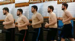 Watch Man Shares Time Lapse Video Of Six Month Weight Loss