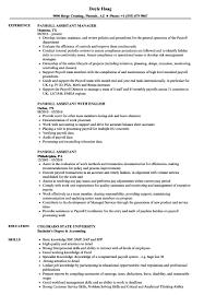 Payroll Resume Samples Sample Resume For Payroll Assistant The Hakkinen