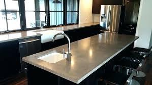 undermount sink concrete countertop sink concrete gorgeous design stained concrete