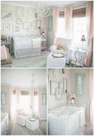 We are madly in love with this vintage chic nursery featuring Bratt Decor's  very own distressed